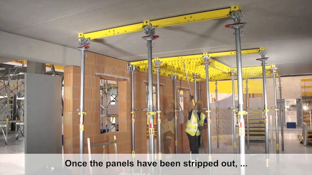 Panel Floor Formwork Dokadek 30 Formwork Removal Dokadek