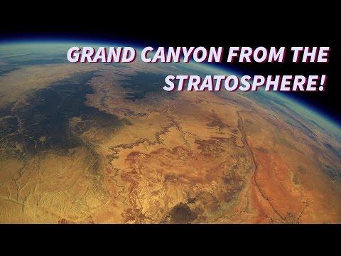 Las imágenes recuperadas de una GoPro que subió a la estratosfera y estuvo dos años desaparecida