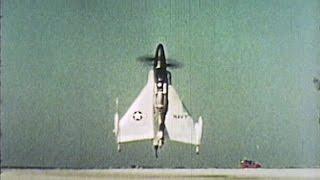 XFY-1 u0026 XFV-1 Vertical Takeoff Fighters