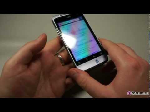 HTC Salsa. Браузер