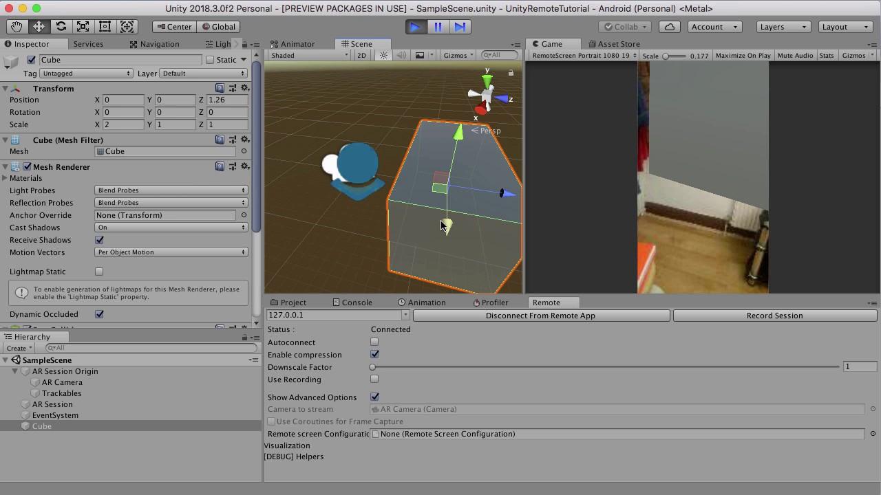 AR Remote Tool - Alpha Preview - Unity Forum