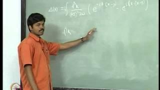 Mod-01 Lec-06 Quantization of Real Scalar Field - IV