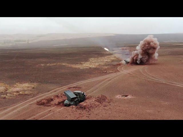 """Масштабные маневры """"Мирная миссия"""" проходят в Оренбургской области"""