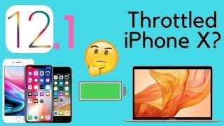 iOS 12.1 Brings Throttling to iPhone 🤔