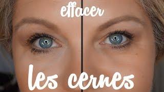 Comment cacher  les cernes  sous les yeux avec le maquillage ?