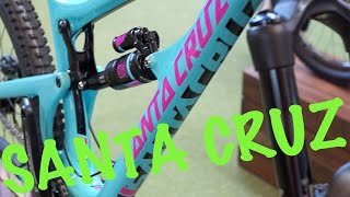 New SANTA CRUZ Bikes 2015 (V10, Nomand, Bronson) - Eurobike 2014