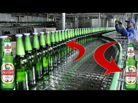 इस तरह फैक्ट्री में बनती है बियर (beer)   BEER Manufacturing Factory