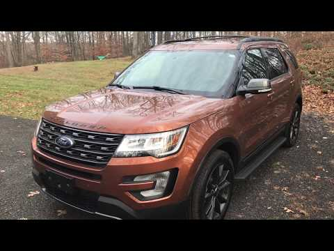 2017 Ford Explorer Xlt With Sports Appearance Package Youtube