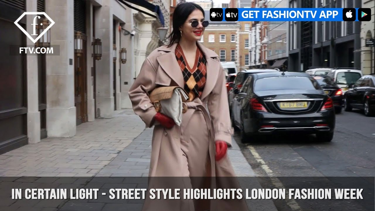 In Certain Light - Street Style Highlights London Fashion Week 2018 | FashionTV | FTV
