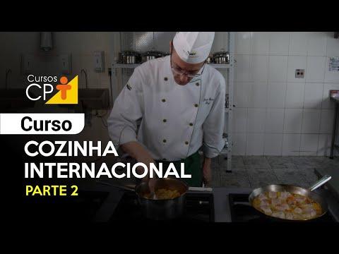 Clique e veja o vídeo Curso de Cozinha Internacional - Parte 2