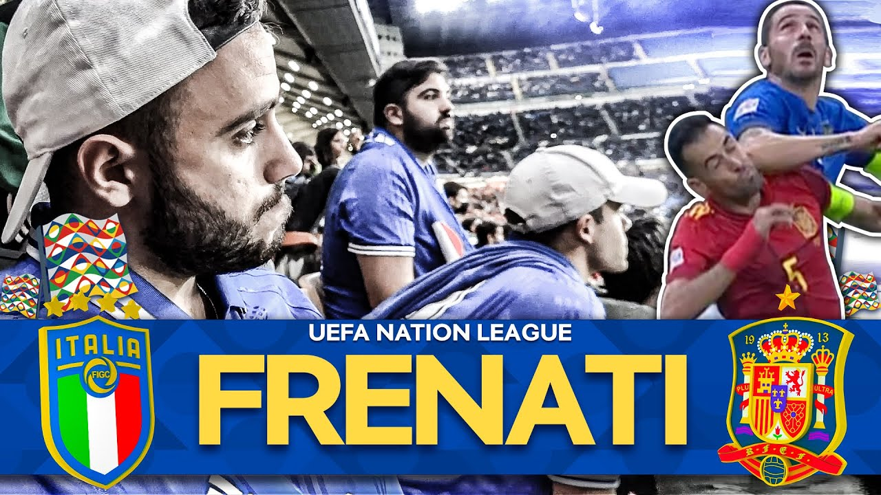 FRENATI... 🇮🇹 ITALIA 1-2 SPAGNA 🇪🇸   LIVE REACTION SAN SIRO HD