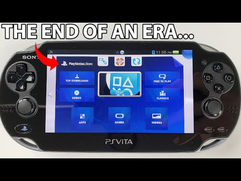 Exploring the PS Vita PlayStation Store in 2021 before it Shuts Down 😪