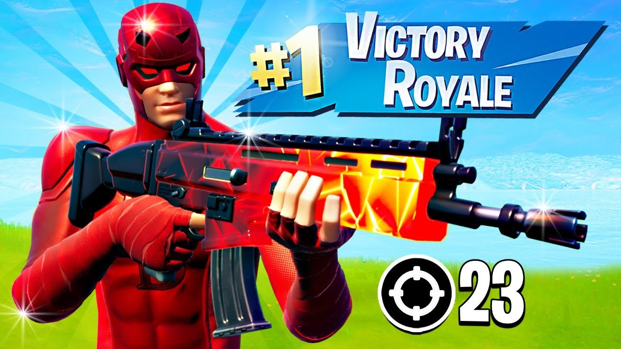 PLAYING DAREDEVIL EARLY!! Winning in Solos! (Fortnite Season 4)