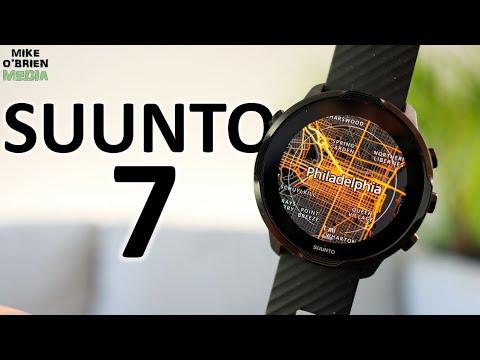 NEW SUUNTO 7 [Suunto Combines Sports and Life] - Advanced Sports Smartwatch Review