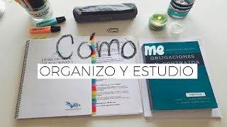 AD. Cómo estudio y me organizo: Derecho + ADE | Tips de Estudio!!