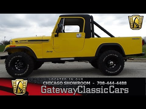 1985 Jeep Scrambler - Gateway Classic Cars of Chicago