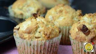 Buttermilk Raisin Walnuts Muffins - By Vahchef @ Vahrehvah.com