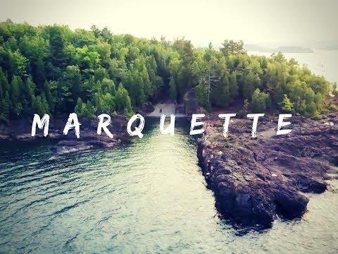 MARQUETTE MI BY DRONE!