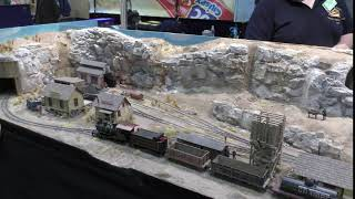 Wild west model railway