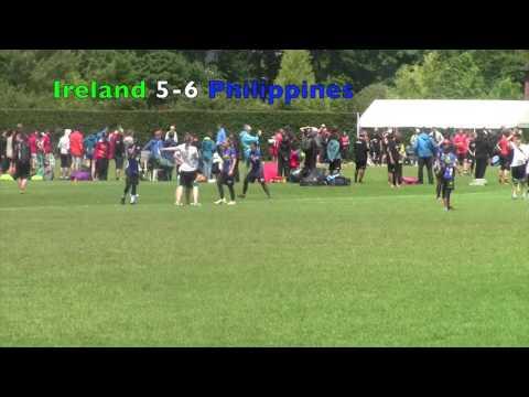WUGC 2016 - Ireland vs Philippines (Women's)