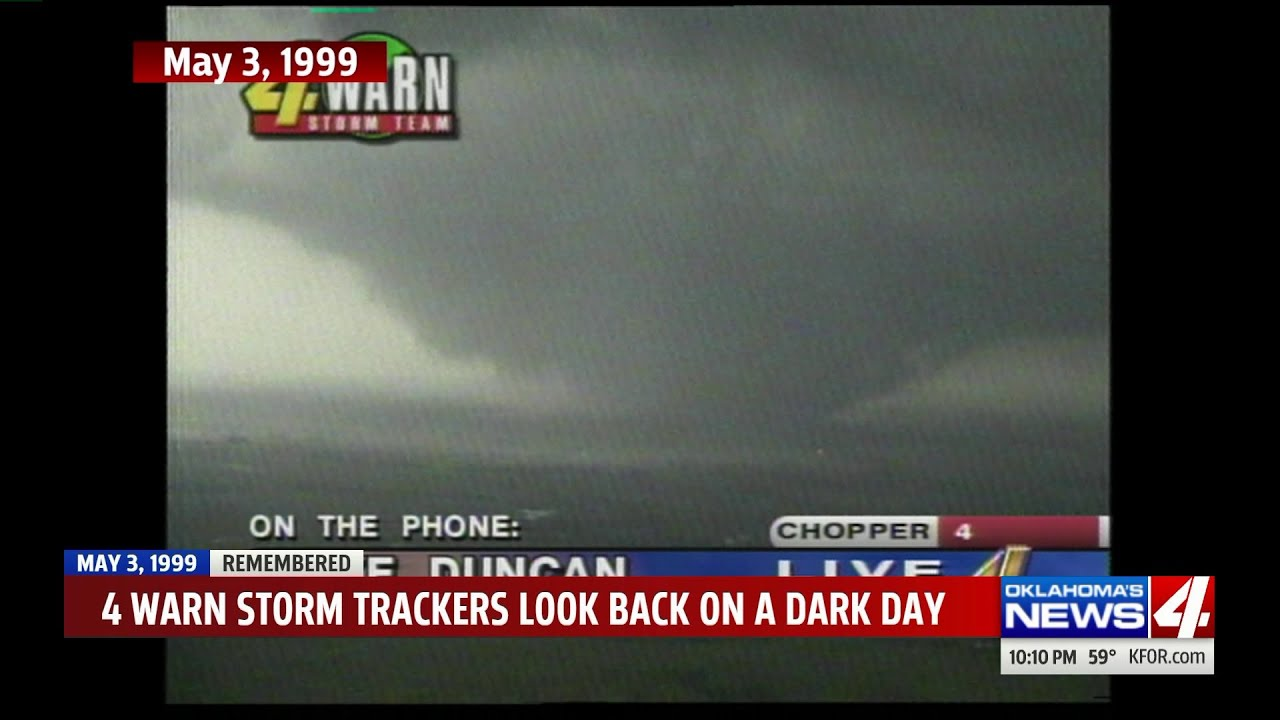 Remembering the tornado outbreak of May 3, 1999, see it through the eyes of  the storm trackers
