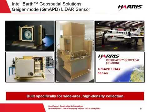 L3Harris Corporation - Geiger-mode LiDAR Tech Talk