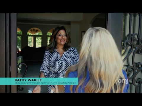 RHONJ star Kathy Wakile's elaborate new Franklin Lakes home (teaser)