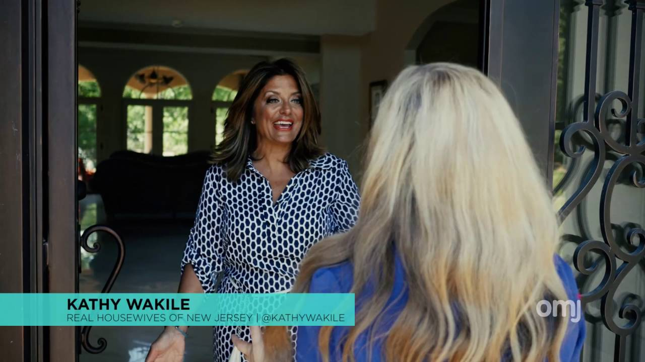 RHONJ Star Kathy Wakileu0027s Elaborate New Franklin Lakes Home (teaser)
