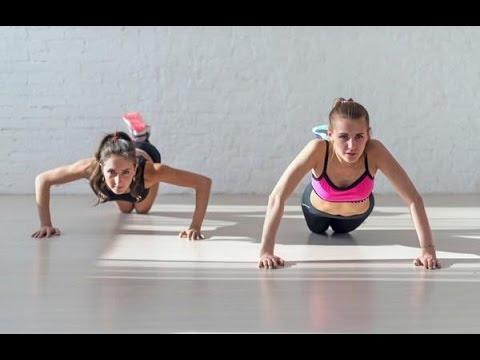 Fitnessübungen Für Zuhause Video - Schlanke Taille Trainieren - Fitness Übungen Für Zuhause