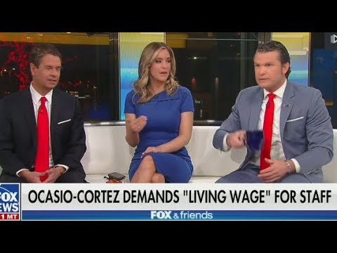 Fox Slams AOC For Paying Her Staff A Living Wage