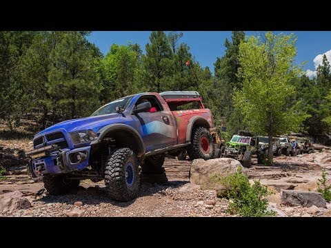 Rock Carnage: Payson to Pyeatt Draw to Mogollon Rim! Part 3 - Ultimate Adventure 2017