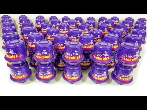100 dairy milk surprise licakables opening