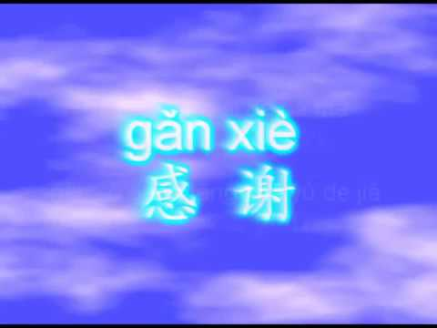 Gan Xie Chinese song for kid