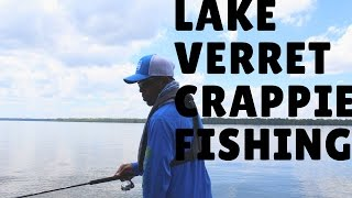 LOST A FISH  OF A LIFETIME! LAKE VERRET CRAPPIE FISHING . 5/15/17