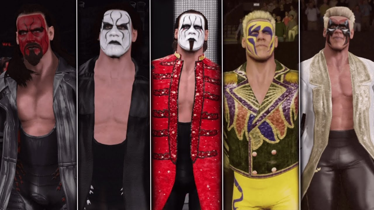 wwe 2k17 sting attire pack