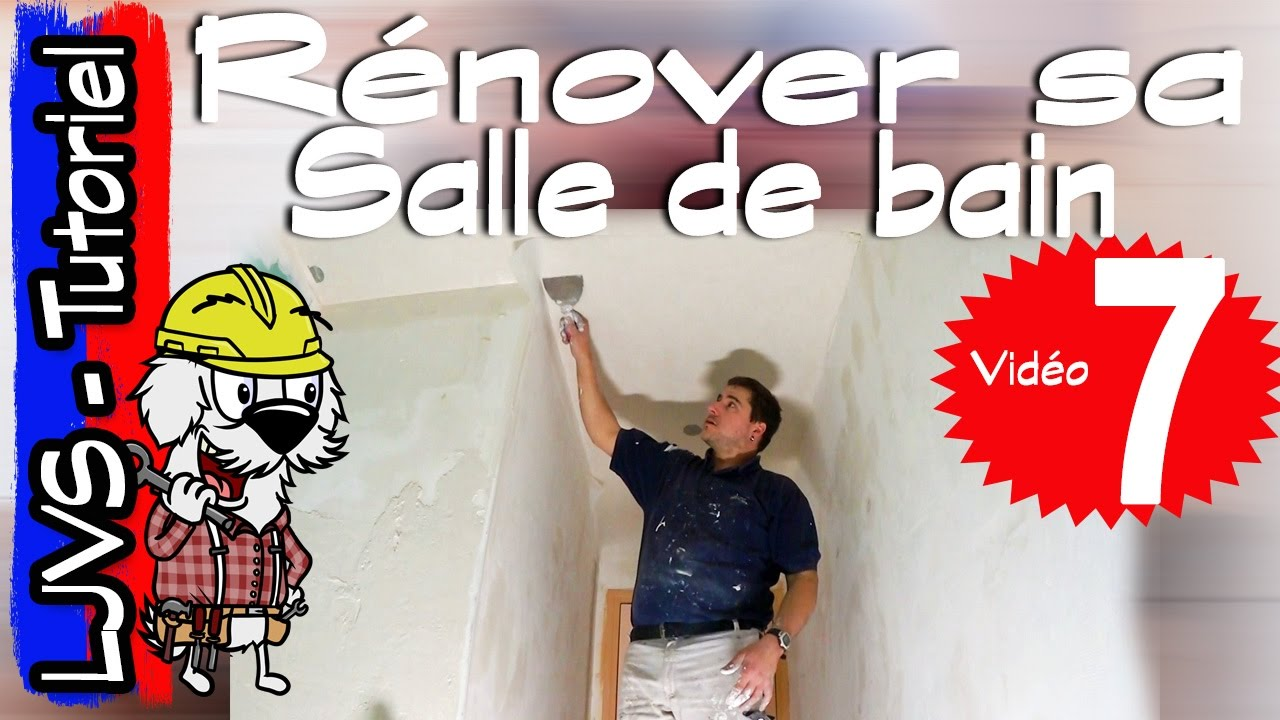 comment renover une salle de bain partie 7 tutoriel ljvs youtube. Black Bedroom Furniture Sets. Home Design Ideas