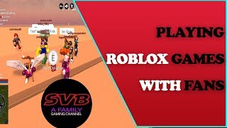 Roblox Games - Family Live Stream - NEW Shirts! MMX Summer Update
