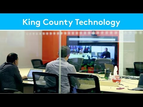 King County Technology (KCIT) Standardizes Using SmartDock and Skype Room Systems