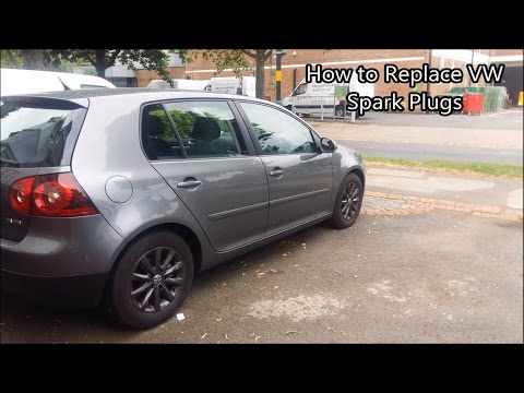 How to Remove Sparkplugs on a VWAG Engine