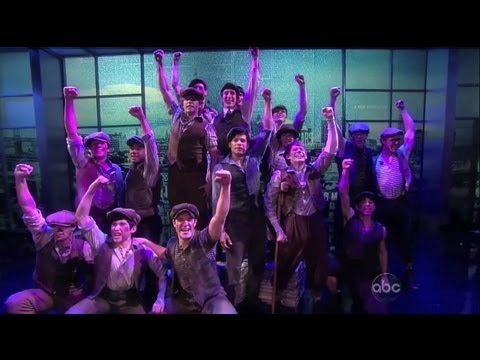 "Disney's NEWSIES Performs on ""The View"" - Now on Broadway!"