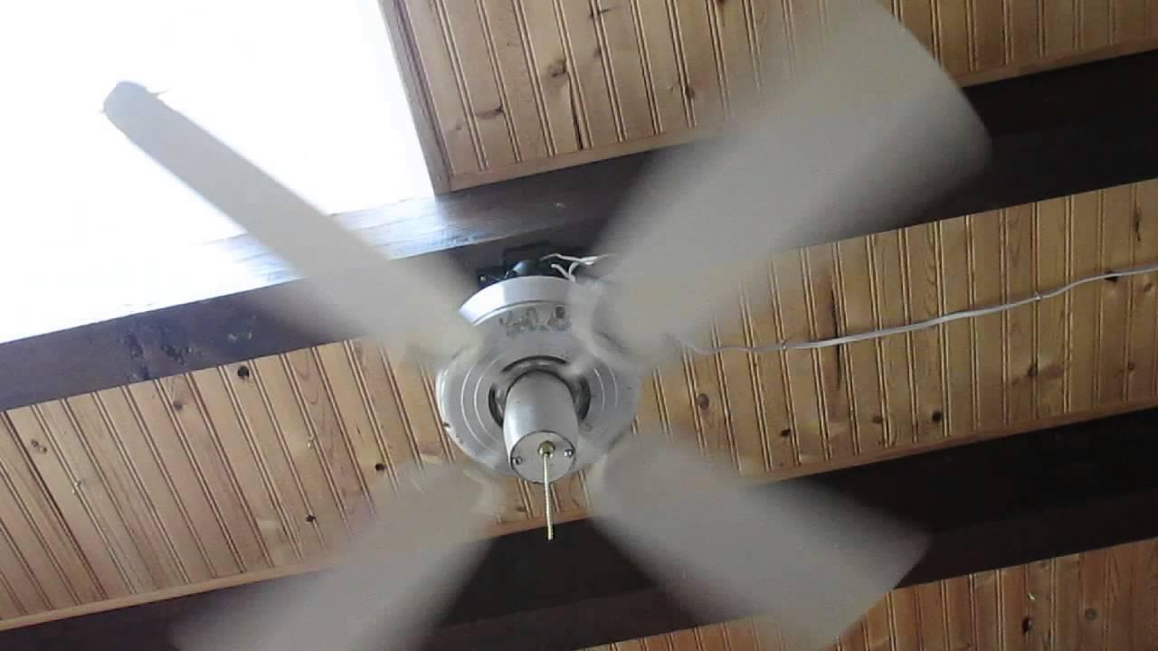 Vintage hunter 36 ceiling fan model r36 youtube vintage hunter 36 ceiling fan model r36 aloadofball Images