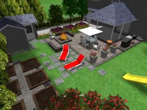 Expression plan design plan d 39 am nagement ext rieur 4 for Plan de jardin paysager
