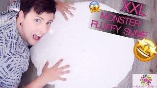 MEGA FLUFFY SLIME - XXL MONSTER SLIME selber machen | FUNNY | SPEZIAL