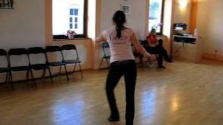 salsa lesson solo by maja sedevcic 11 5 2009