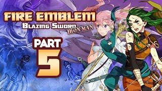 Part 5: Fire Emblem 7, Blazing Sword, Hector Hard Mode, Ironman Stream