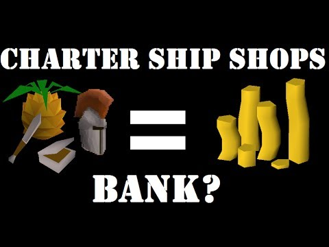 Is Buying from Charter Ship Shops Worth It? - OSRS Money Making