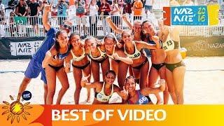 Best of Under 16 Beach Handball EURO 2016 | Nazaré 2016