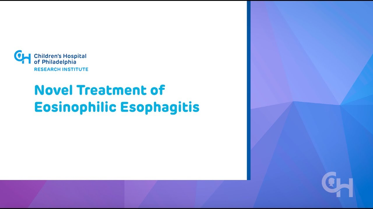 Novel Treatment of Eosinophilic Esophagitis