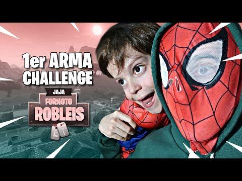 GANANDO SOLO CON LA PRIMER ARMA CON THIAGO !! - Fortnite: Battle Royale