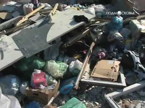 Раменское. Не вывозится мусор от многоэтажных домов